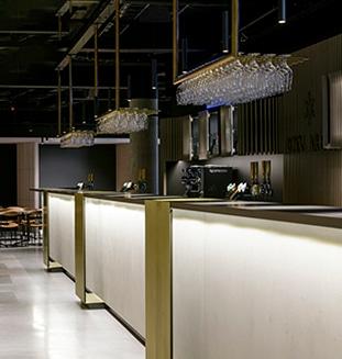 glasophæng til bar og restaurant